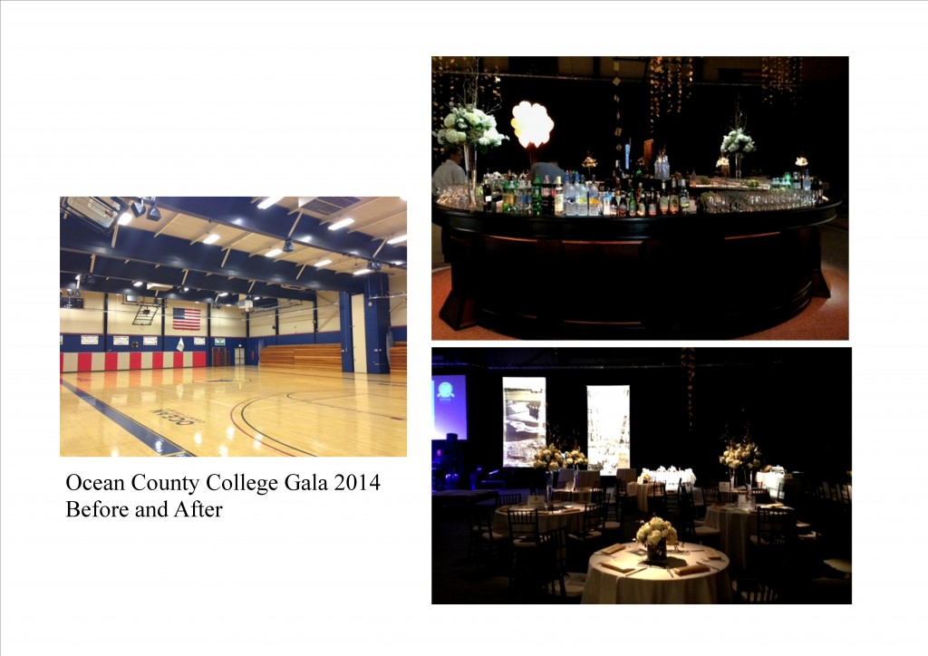 OCC Gala 2014 before and after
