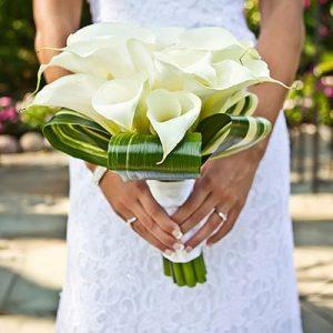 Narcissus Florals bridal bouquet
